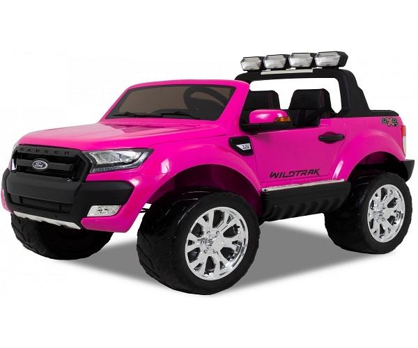 Masinuta electrica Ford Ranger 4x4 cu ROTI MOI 4x45W #Roz 0