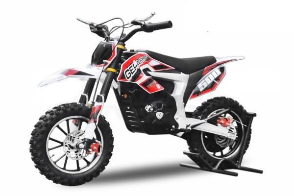 Mini Motocicleta Eco Ghepard 500W 24V #Rosu 0