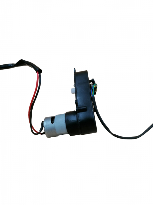 Motoras directie si reductor pentru masinuta 1