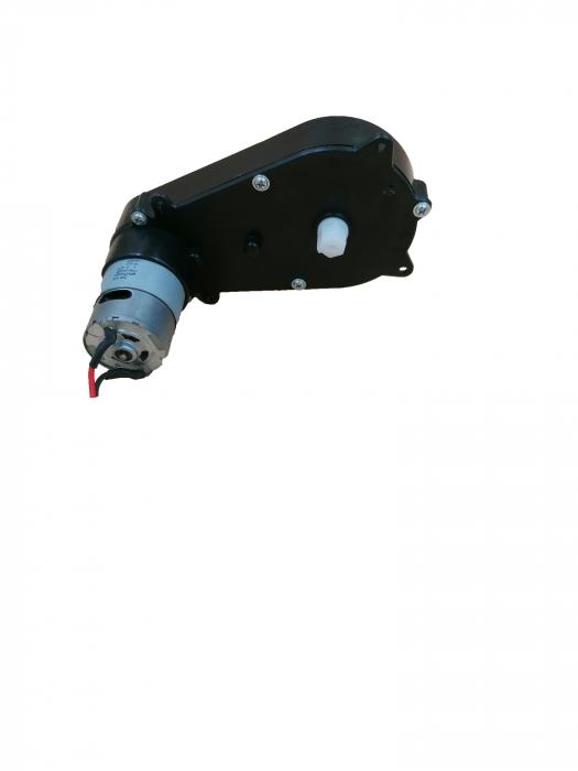 Motoras directie si reductor pentru masinuta 3