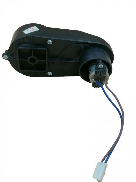 Motoras electric si reductor 6V pentru atv 2