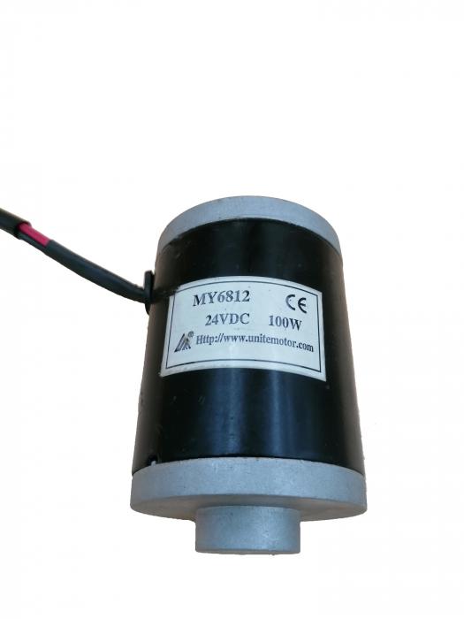 Motor atv electric de 100W 24V 1