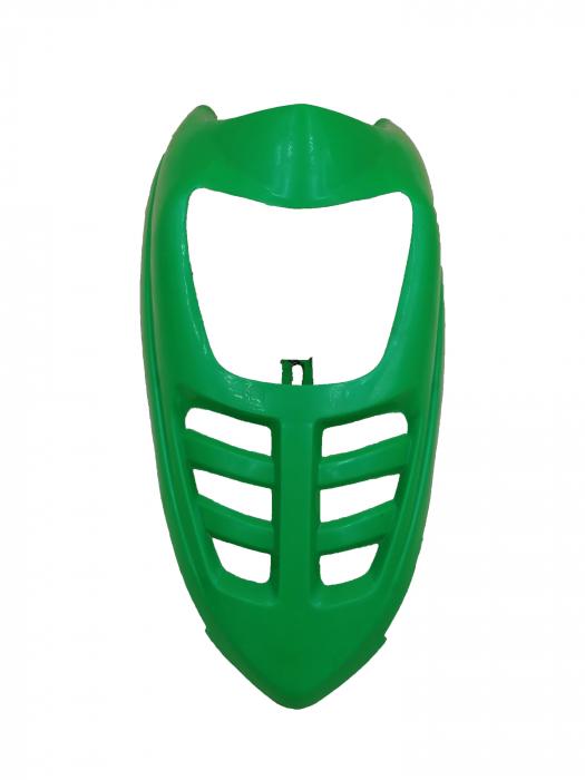 Masca far pentru atv electric bigfoot culoare verde 4
