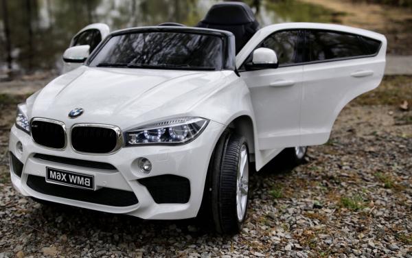 Masinuta electrica BMW X6M 2x35W 12V PREMIUM #Alb 3