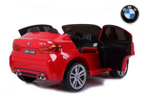 Masinuta electrica BMW X6M 12V XXL PREMIUM #Rosu 3