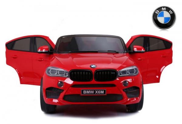 Masinuta electrica BMW X6M 12V XXL PREMIUM #Rosu 5