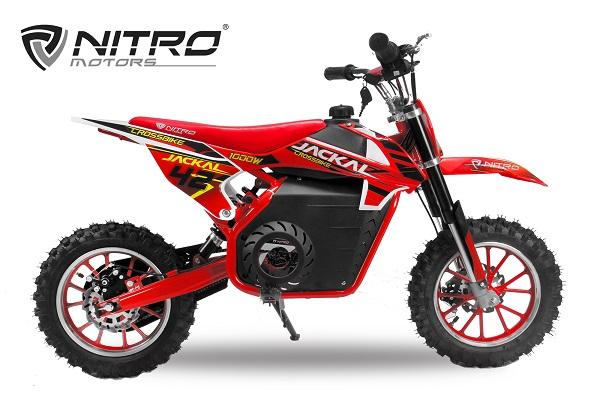 Mini Motocicleta electrica Eco Jackal 1000W 10 inch #Rosu 0
