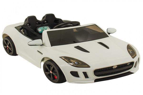 Kinderauto Jaguar F Type cu ROTI MOI 2x 35W 12V #ALB 0