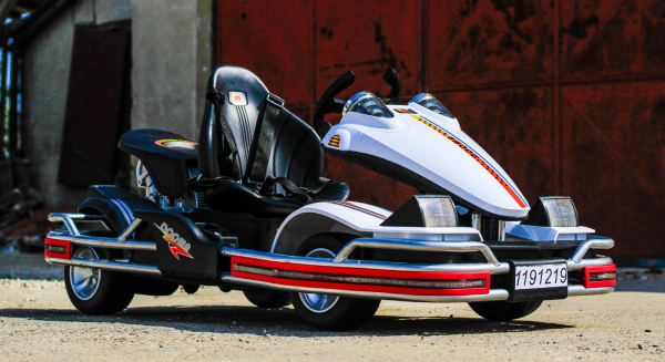 Kart Electric Dooma GO! KART 2x 35W 12V STANDARD #Alb 3