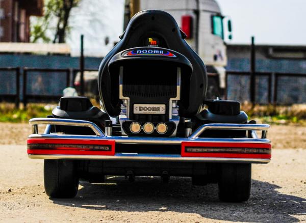 Kart Electric Dooma GO! KART 2x 35W 12V STANDARD #Alb 5