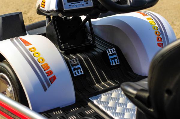 Kart Electric Dooma GO! KART 2x 35W 12V STANDARD #Alb 8