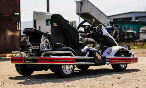 Kart Electric Dooma GO! KART 2x 35W 12V STANDARD #Alb 6