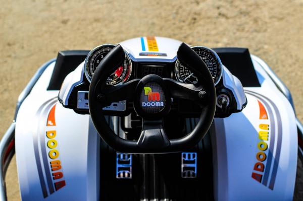 Kart Electric Dooma GO! KART 2x 35W 12V STANDARD #Alb 12