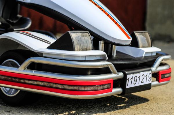 Kart Electric Dooma GO! KART 2x 35W 12V STANDARD #Alb 14