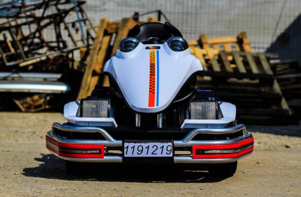 Kart Electric Dooma GO! KART 2x 35W 12V STANDARD #Alb 1