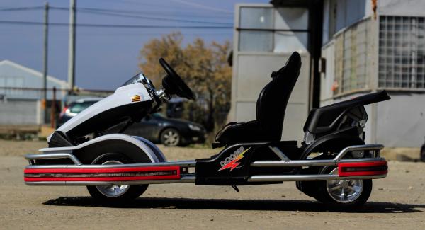 Kart Electric Dooma GO! KART 2x 35W 12V STANDARD #Alb 7