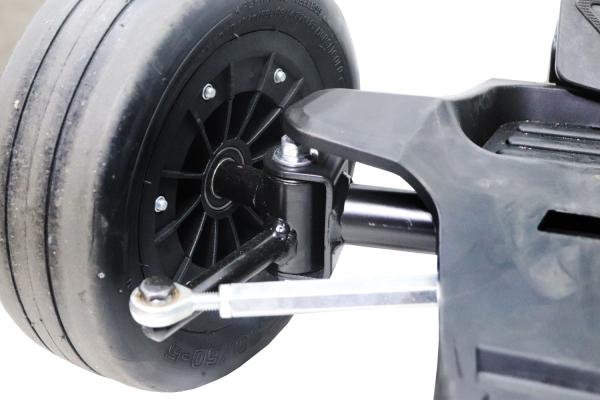 Kart electrica Eco Go Kart K1 2x 350W 54V 4Ah Lithiu-Ion #Negru 10