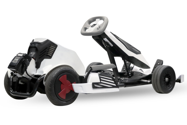 Kart electrica Eco Go Kart K1 2x 350W 54V 4Ah Lithiu-Ion #Negru 2