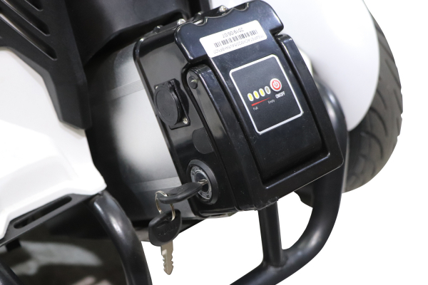 Kart electrica Eco Go Kart K1 2x 350W 54V 4Ah Lithiu-Ion #Negru 9