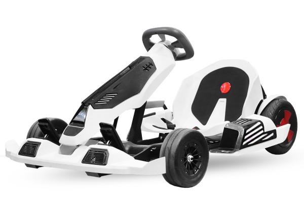 Kart electrica Eco Go Kart K1 2x 350W 54V 4Ah Lithiu-Ion #Negru 0