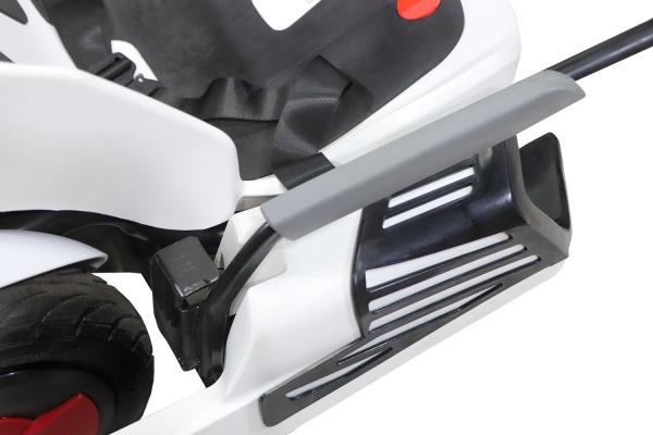 Kart electrica Eco Go Kart K1 2x 350W 54V 4Ah Lithiu-Ion #Negru 8