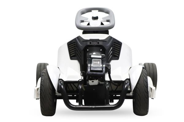 Kart electrica Eco Go Kart K1 2x 350W 54V 4Ah Lithiu-Ion #Negru 4