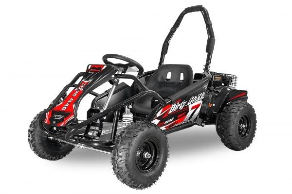Kart electric pentru copii NITRO GoKid Dirty 1000W 48V #Rosu 0