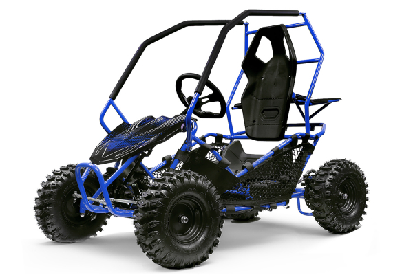 Buggy electric pentru copii NITRO Crosser 1000W 36V #Albastru 0