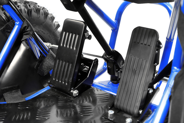 Buggy electric pentru copii NITRO Crosser 1000W 36V #Albastru 7