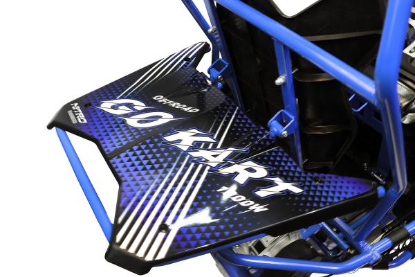 Buggy electric pentru copii NITRO Crosser 1000W 36V #Albastru 3