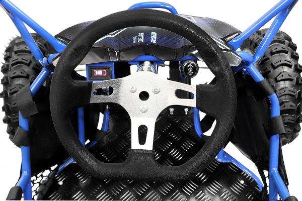 Buggy electric pentru copii NITRO Crosser 1000W 36V #Albastru 5