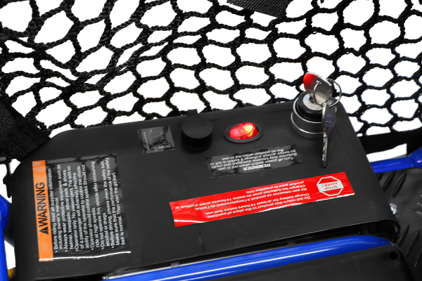 Buggy electric pentru copii NITRO Crosser 1000W 36V #Albastru 4