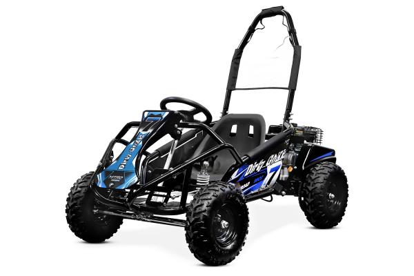 Kart electric pentru copii NITRO GoKid Dirty 1000W 48V #Albastru 0