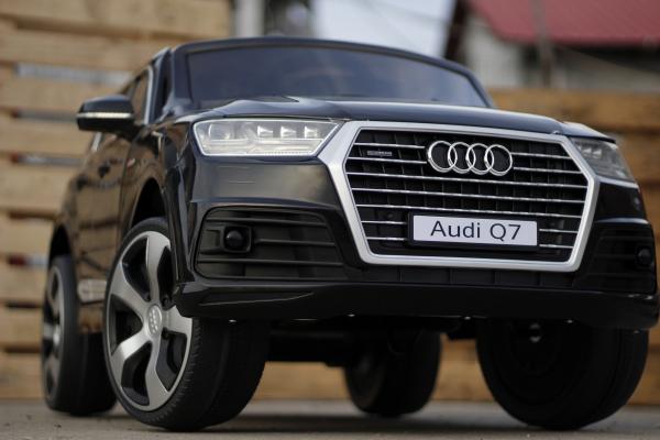 Masinuta electrica Audi Q7 2x35W 12V STANDARD #Negru 1