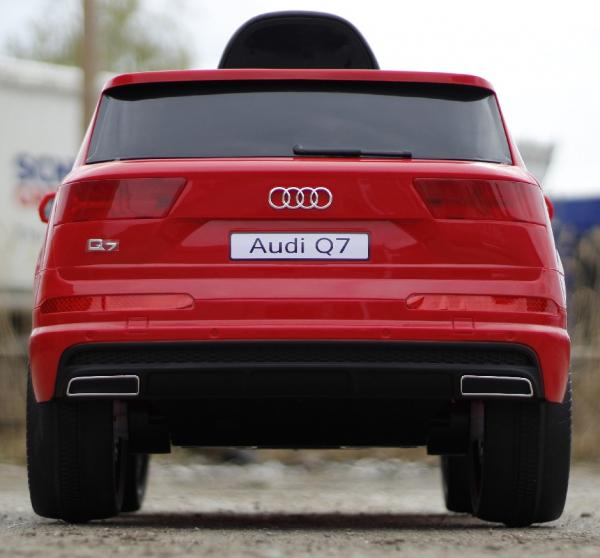 Masinuta electrica Audi Q7 2x35W 12V STANDARD #ROSU 4