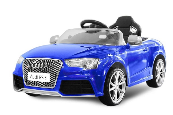 Masinuta electrica Audi RS5 2x35W STANDARD 12V MP3 #Albastru [0]