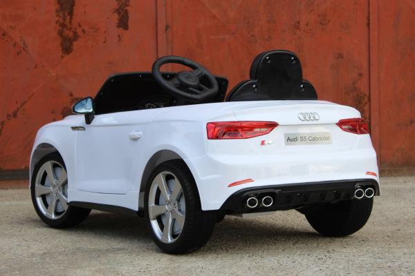 Masinuta electrica Audi S5 Cabriolet 2x35W CU ROTI MOI 12V #Alb 5