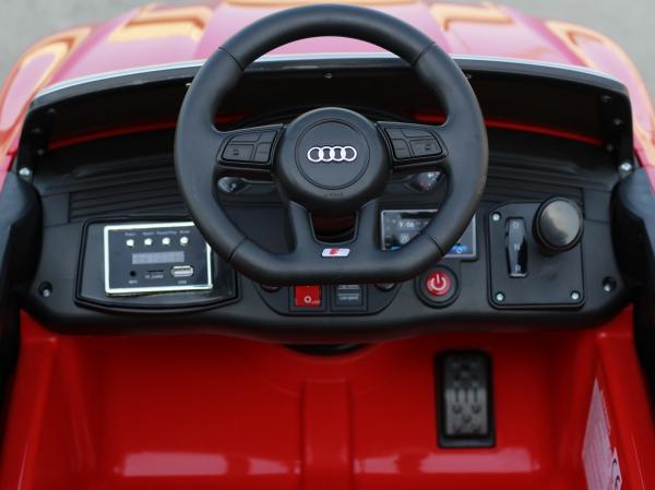 Masinuta electrica Audi S5 Cabriolet 2x35W CU ROTI MOI 12V #Rosu 6
