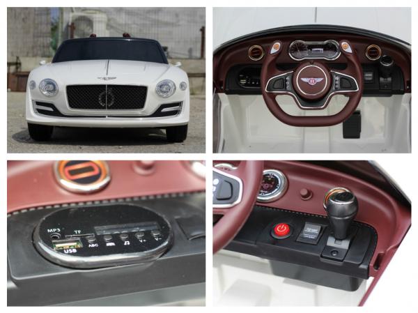 Masinuta electrica Bentley EXP12 PREMIUM #Alb 10