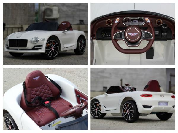 Masinuta electrica Bentley EXP12 PREMIUM #Alb 9