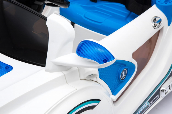 Masinuta electrica BLJ-9988 2x 35W 12V STANDARD #Albastru 4