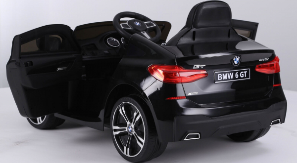 Kinderauto Bmw Seria 6 GT 12V PREMIUM #Negru 4
