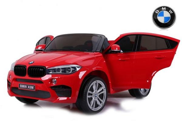 Masinuta electrica BMW X6M 12V XXL STANDARD #Rosu [0]