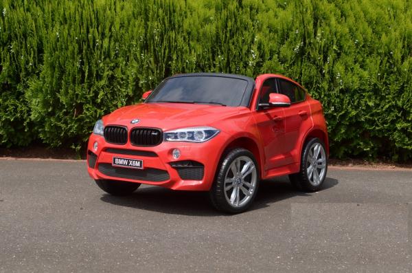 Masinuta electrica BMW X6M 12V XXL STANDARD #Rosu [7]