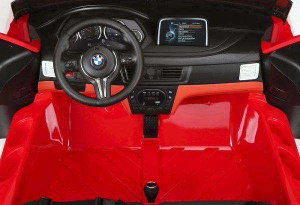 Masinuta electrica BMW X6M 12V XXL STANDARD #Rosu [2]
