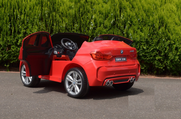 Masinuta electrica BMW X6M 12V XXL STANDARD #Rosu 5