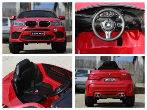 Masinuta electrica BMW X6M 2x35W STANDARD #Rosu 8