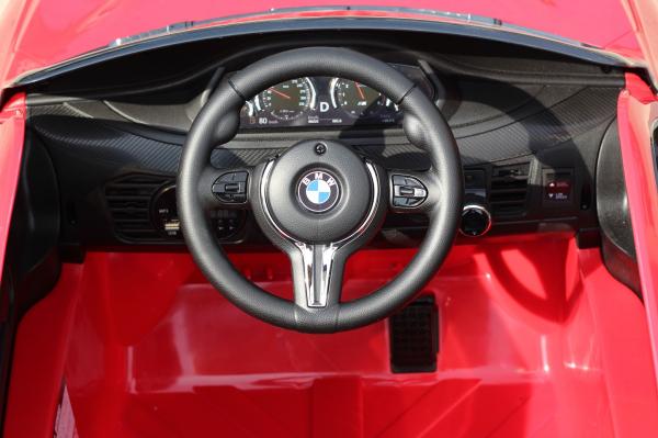 Masinuta electrica BMW X6 premium pentru copii, rosie 5