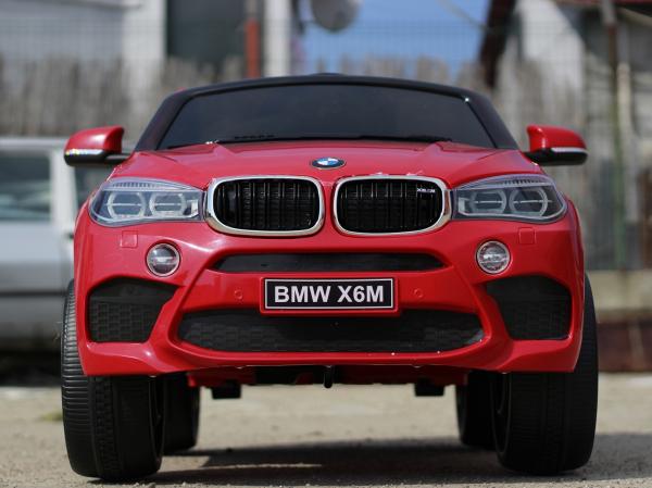 Masinuta electrica BMW X6 premium pentru copii, rosie 1