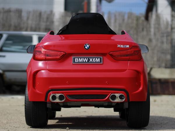Masinuta electrica BMW X6M 2x35W STANDARD #Rosu 3